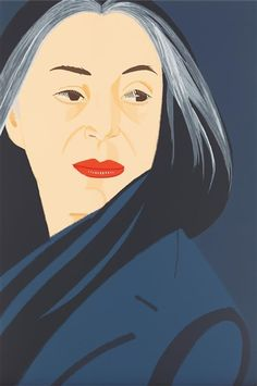 Alex Katz, Black Scarf