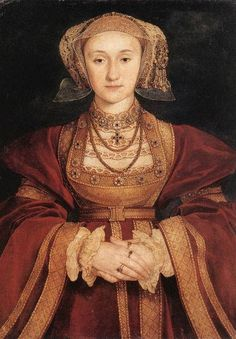 Anne of Cleves wife #4, marriage annulled...she just didn't do it for Henry.