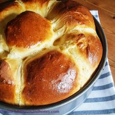 Impress everyone with your baking skills - try this simple Honey Orange Brioche recipe - anyone can do it!