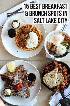 The Best Breakfast & Brunch in Salt Lake City: my tried & true local's list from diners to bakeries to my new favorite bagel shop. Full post at femalefoodie.com! #slc #saltlakecity #utah #breakfast #brunch #UT