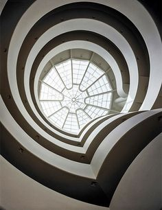 Soloman R. Guggenheim Museum, built from 1956 to 1959, New York City | archdigest.com