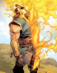 War Thor and Phoenix Force