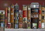34.Village de livres  by Marie Montard