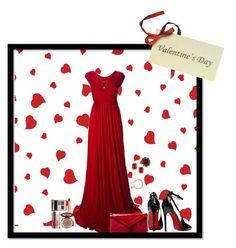 """Happy Valentine 's day"" by nemesisktn ❤ liked on Polyvore featuring Issa, Posh Girl, L.K.Bennett, Michael Kors, Kenneth Jay Lane, Alexander McQueen and Charlotte Tilbury"