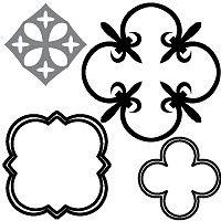 Definition of Quatrefoil; what is Quatrefoil; examples of Quatrefoil; samples of Quatrefoil; how to make Quatrefoil. Outside Wall Art, Mission Style Homes, Gothic Architecture, Quatrefoil, Wonderland, Crafts, Design, Artists, Manualidades