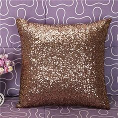 High Quality capa almofada Throw glitter Pillow Case Cafe Home Decor Cushion Covers Freeshipping housse de coussin