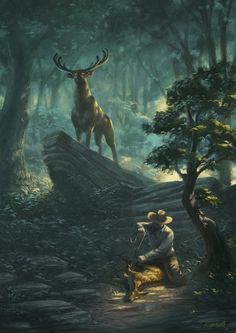Anhangá - Ente que protege os animais, sobretudo os mais indefesos, de caçadores ou pescadores inescrupulosos. espectro animal que traz desgraça para quem o vê. espírito maléfico.tupi a' ñanga 'gênio da floresta protetor da flora e da fauna', na mitologia tupi.