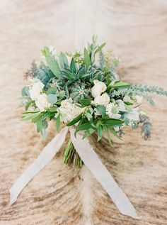 bouquet with cactus - photo by Elyse Hall Photography http://ruffledblog.com/tucson-hacienda-wedding-inspiration