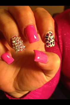 Pink, Cheetah, Gems?? I'm ALL over this one!!!