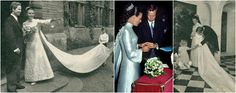 Wedding of Prince Philipp of Lichtenstein, the second son of Prince Franz Josef II and Princess Gina, and Isabelle de l'Arbre de Malander, youngest child and daughter of Jean de l'Arbre de Malander and his wife née Guillemette Grassal of Belgium.   September 11, 1971