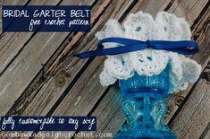 Garter Belt Crochet Pattern @OombawkaDesign