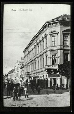Eger; Széchenyi utca 1918.
