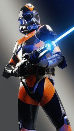 STAR WARS: 212th Clone Trooper by Steven Martin.