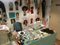 My FCCA Space Grant   at Flushing Town Hall. Town Hall, Sage, Workshop, Photo Wall, Dolls, Baby Dolls, Atelier, Photograph, Salvia