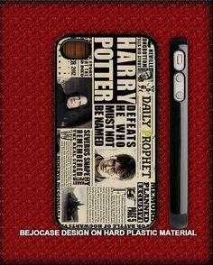 harry potter daily rophet for iphone 5 and iphone 4/s case