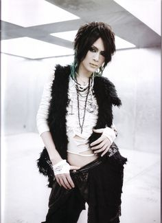 Nightmare Guitarist -> Sakito Nothing better than a guy who can really play guitar well.