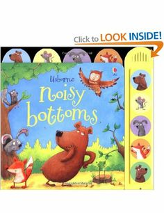 Noisy Bottoms (Usborne Noisy Books): Amazon.co.uk: Sam Taplin, Mark Chambers: Books
