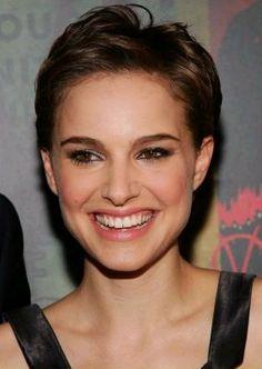 Natalie Portman pixie hair cut
