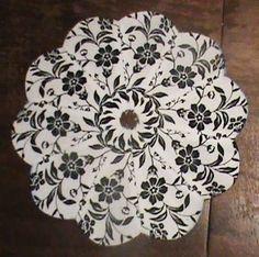 Black and White Dresden Kaleidoscopes