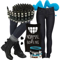 """Summer 2013- Normal Is Boring"" by fightsoftly on Polyvore"