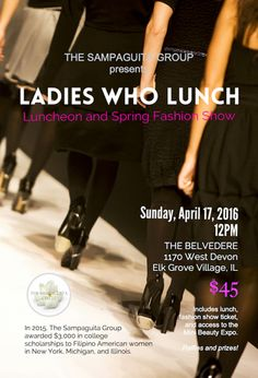 Maike's Marvels » A Fashionable Scholarship Luncheon