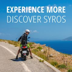 Experience more - Discover Syros . by scooter Car Rental, Bicycle, Travel, Trips, Bicycle Kick, Trial Bike, Traveling, Bike, Bicycles
