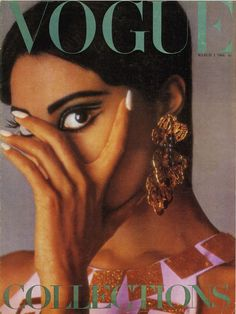 In Donyale Luna became the first black model to appear on the cover of Vogue! Vogue Magazine Covers, Vogue Covers, Vintage Black Glamour, Vintage Vogue, Beyonce, Rihanna, Lineisy Montero, X Project, Black Magazine