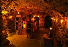 Nova Scotia House Bought For $15,000, Now On Market For $2 Million - the wine cellar