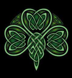 St. Patrick's Day-Celtic clover
