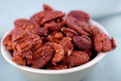 Spiced Pecans on http://www.elanaspantry.com