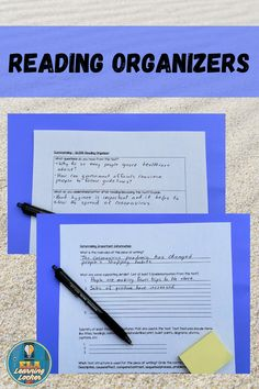 These graphic organizers will assist high school English Language Arts students with improving their reading comprehension and literacy skills. This resource includes organizers for making predictions, making connections, determining important information, summarizing, responding (fiction and nonfiction), and drawing conclusions. Reading organizers are an excellent resource for struggling readers, as they provide prompts for specific information and teach students how to read more…