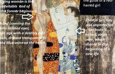 Woman, Symbol Of Life In Gustav Klimt ,,Three Ages Of A Woman,, - PINACOTHECA Life Symbol, Gustav Klimt, Third, Abstract Art, Symbols, Age, Pure Products, Woman, Women