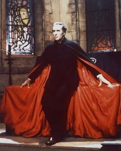 christopher lee as dracula photo image | Monster Memories by Dominic O'Brien