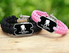 Survival Straps® Wounded Warrior Project® Bracelets are a great way to show your support to our troops. When you purchase one, we donate one to a Warrior. Made in America with a lifetime guarantee.