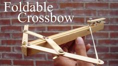 How to Make a Foldable Crossbow