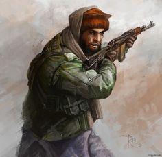 Afghan Mujahideen fighter, Soviet-Afghan War