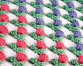 Crochet Pattern Tulip Blanket - Digital file PDF