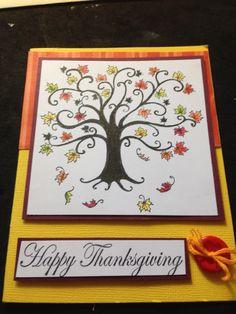 Handmade card by me.
