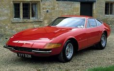 "Ferrari 365 GTB/4 Daytona  1968-1974  ""It was the fastest production car in the world"""