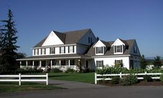 Spacious and well designed 5 bedroom Farmhouse style home.  Farmhouse House Plan # 551199.