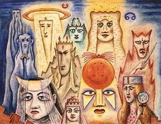 """Xul Solar, """"Máscaras planetarias"""" (1953)"""