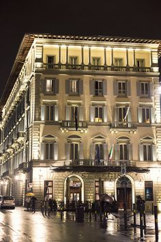 The St. Regis Florence in all its glory. #Florence #Italy #Travel