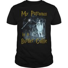 Border Collie Patronus - LIMITED EDITION  #Border Collie #Border Collieshirts #iloveBorder Collie # tshirts