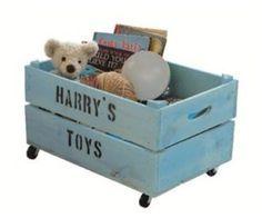 caja para guardar juguetes