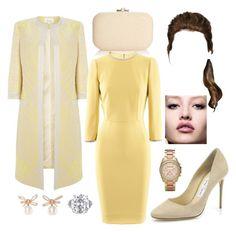 Visiting a school by arantxaherrera on Polyvore featuring polyvore fashion style Dolce&Gabbana Jimmy Choo Judith Leiber Michael Kors VanLeles clothing