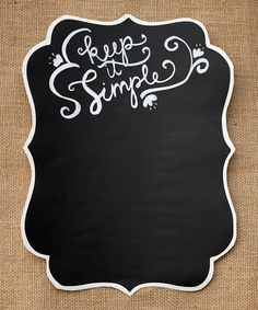 Love This Lisa Chalkboard Decal By Charlie Chalk On Zulily Zulilyfinds Product Description
