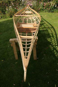 Skin on Frame Canoe (SOF) build-along - jonsbushcraft.com