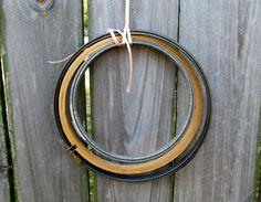 Vintage Embroidery Hoops Wood and Metal by WeeLambieVintage, $12.00