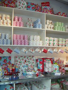 photograph taken in the marylebone high street branch of cath kidston.