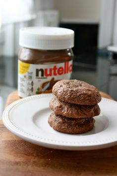 Insanely Easy Nutella Cookies